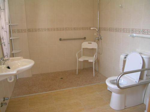 Haltegriff Dusche Behindertengerecht : Wheelchair-Accessible Shower